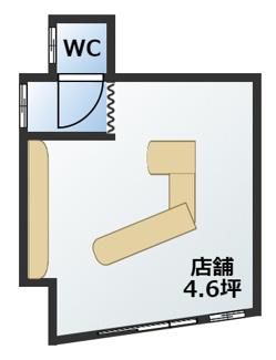 中原通5丁目店舗