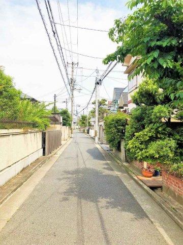 【前面道路含む現地写真】堺市西区浜寺諏訪森町西 売り土地
