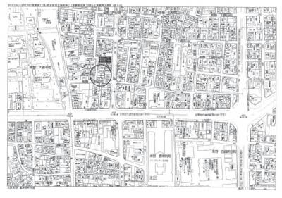 【地図】紫野下門前町 新築戸建