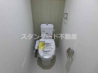【トイレ】オーシャンコート西田辺