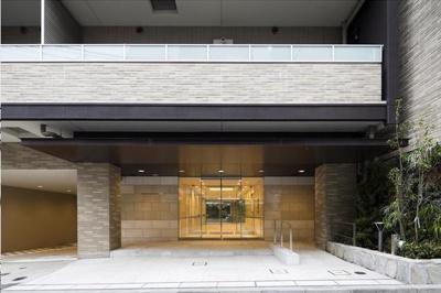 ライジングサン恵比寿二丁目:入口
