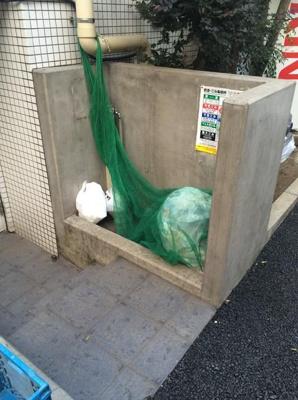 ル・リオン三軒茶屋:ゴミ置き場
