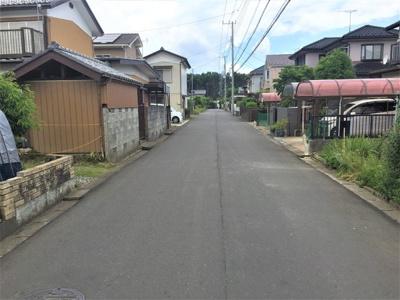 6m道路と4.5m道路の角地