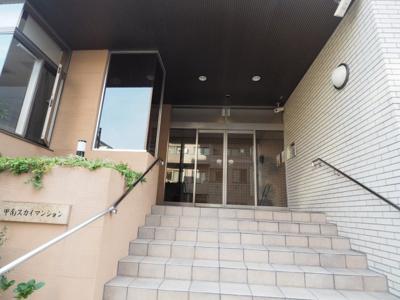 【エントランス】甲南スカイマンション