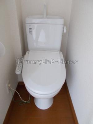 グレースメリーのコンパクトで使いやすいトイレです☆
