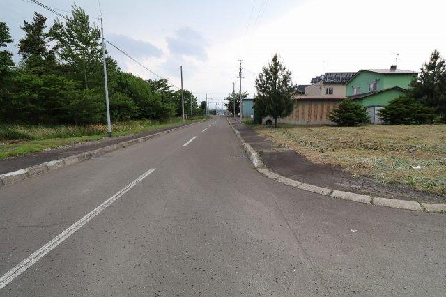 【前面道路含む現地写真】清水町基線49