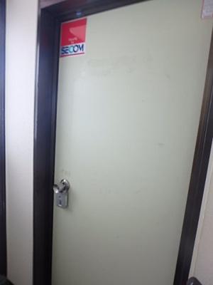 出入り口(外側)