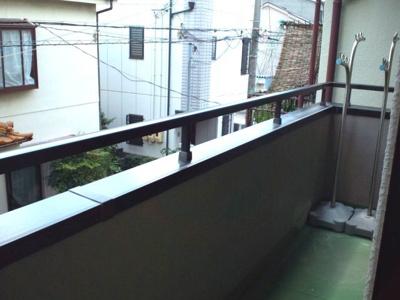 【バルコニー】ローテローゼ久寿川