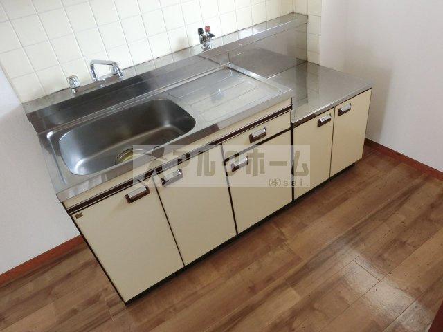 善積ハイツ(柏原市玉手町 道明寺駅) キッチン