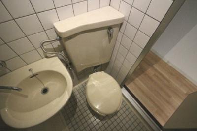【トイレ】サンヴィラ六甲道パート2