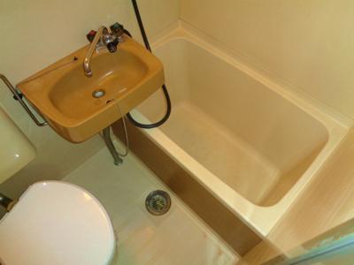 【浴室】エレガンスハイツ湯里