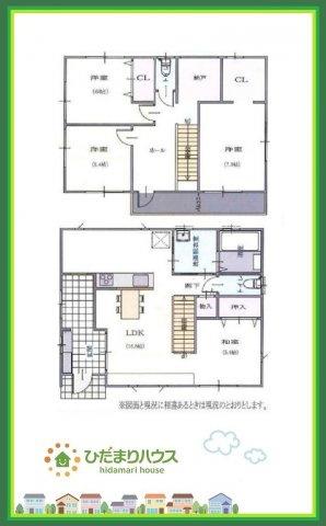 リビングから浴室や2階に行けます!2階ホールからもバルコニーに出入り可能!