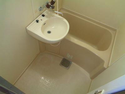 【浴室】湯里ハイツC棟