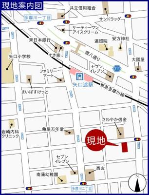 【地図】高橋荘
