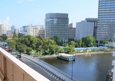 【展望】リア マンシオン晴海 8階 角 部屋 勝どき駅2分