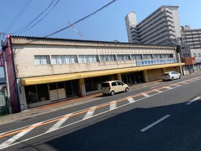 【外観】向陵西町 倉庫・店舗事務所