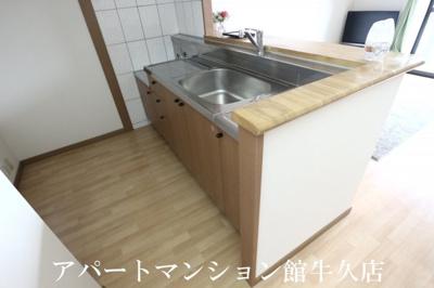 【キッチン】グランディールANNEX