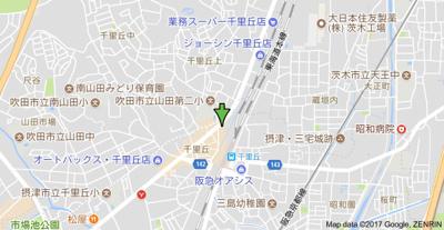 【地図】アビンジャーコート