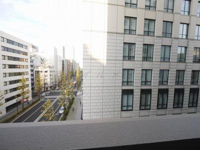 バルコニーからの眺望・北東向きです。