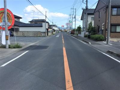 幅員10mの道路付き