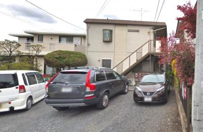 【外観】コスモハイツOM駐車場
