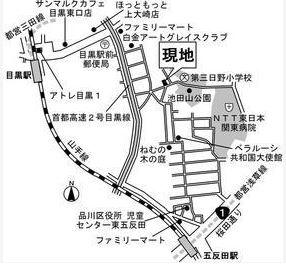 【地図】リベルテ池田山