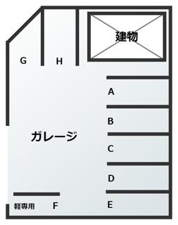【区画図】マヤゴルフ駐車場