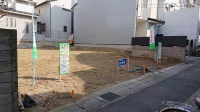 【前面道路含む現地写真】衣笠東開キ町 新築戸建