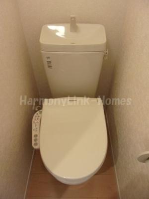 フェリスハーモニーの清潔感のあるトイレです