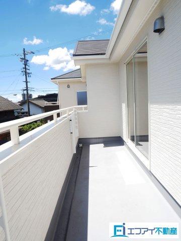 【バルコニー】東海市高横須賀町北屋敷 新築分譲戸建