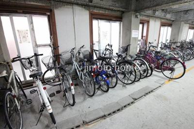 自転車置けます