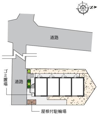 【地図】メンターズハウス