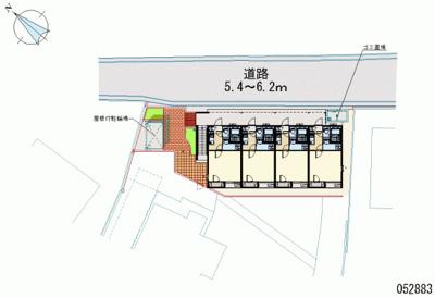 【地図】レオネクストパジェント博多
