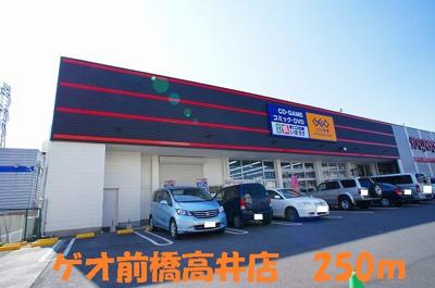 ゲオ前橋高井店まで250m