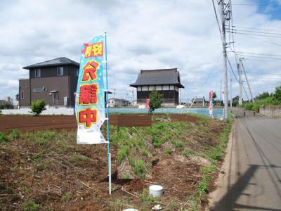 【前面道路含む現地写真】富士見ヶ丘1丁目24番4