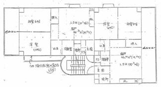 【間取り】尼崎市東園田町一棟マンション