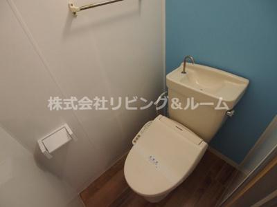 【トイレ】リバーサイド天川B