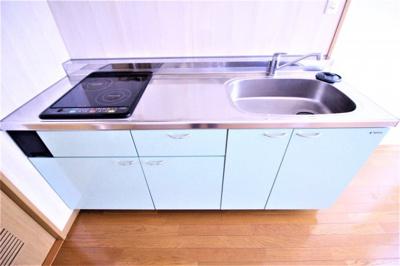 ★水色のかわいいキッチン★