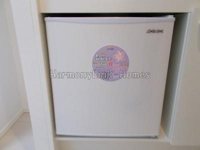 ハーモニーテラス東駒形Ⅱのミニ冷蔵庫☆
