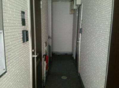 ハーモニーテラス東駒形Ⅱの廊下☆