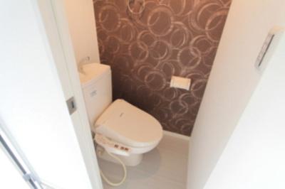 ハーモニーテラス東駒形Ⅱのシンプルで使いやすいトイレです☆