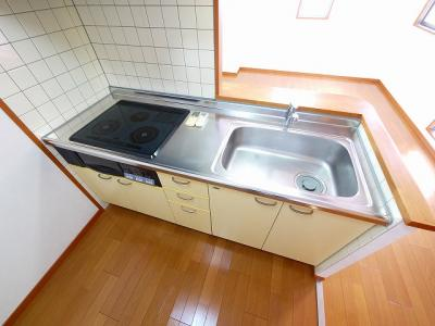 【キッチン】KBK高天ビル