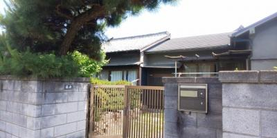 【外観】八幡町平屋住宅
