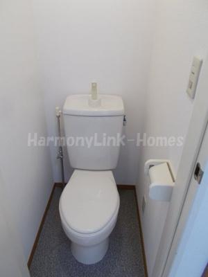 シエスタラークのゆったりとした空間のトイレです(別部屋参考写真)