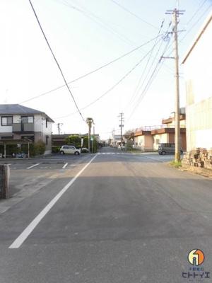 間口・前面道路です