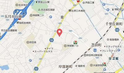 【地図】グランビュー