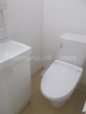 Blanc de Blancsのゆったりとした空間のトイレです☆