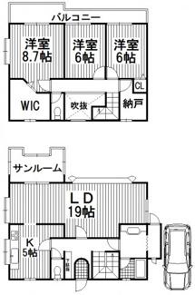 川西市清和台西4丁目2の54 中古一戸建て