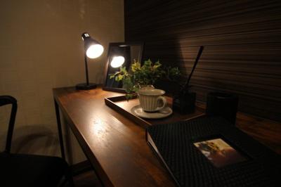 こんな書斎があれば仕事が進みますよね♪当社施工例です!