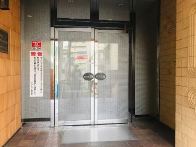 【エントランス】光建ハイムブリリアンス野毛山公園